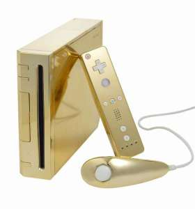 The actual best Wii System ever, owned by the Queen of England