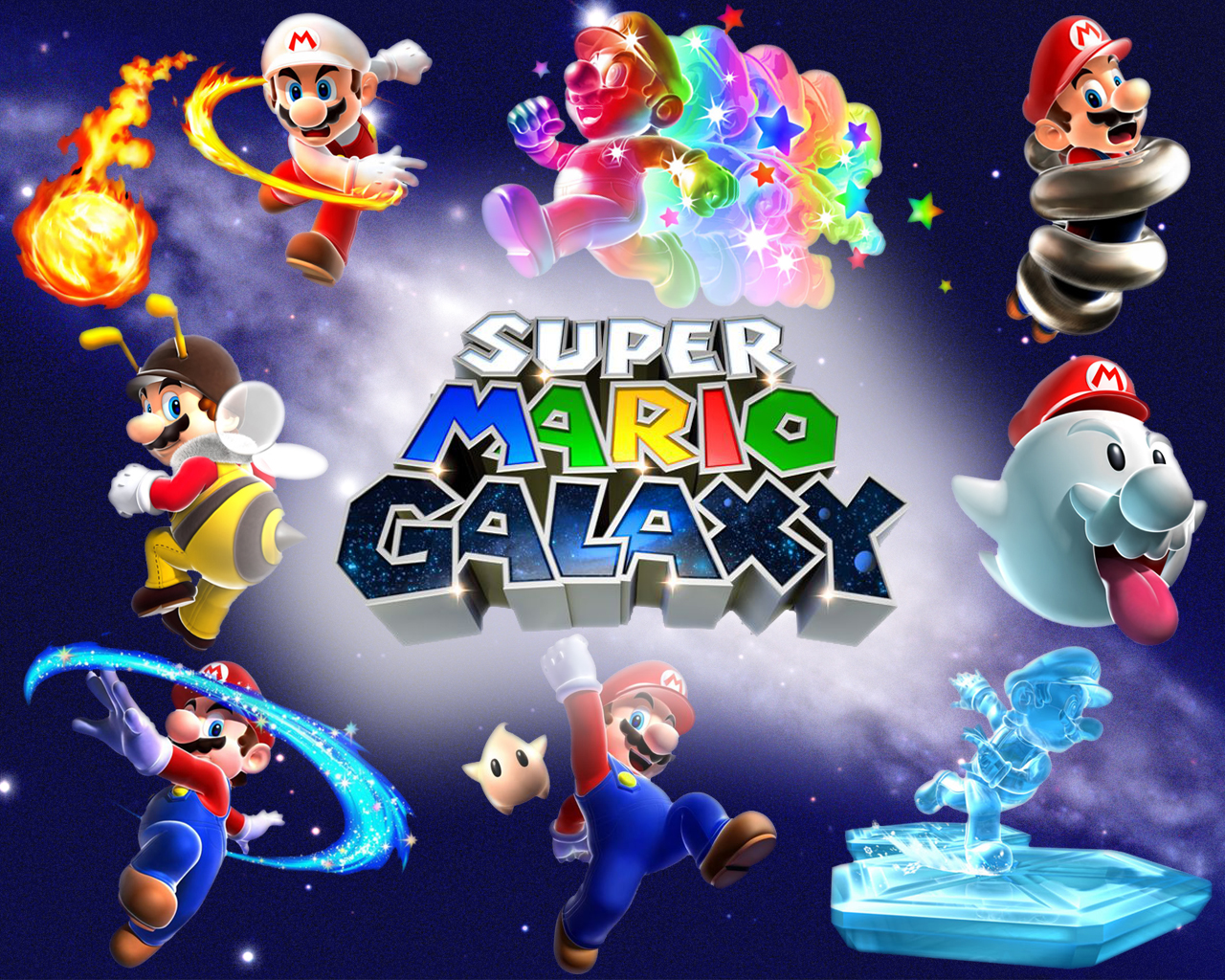 power star super mario galaxy - photo #34